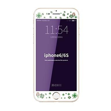 Sticlă securizată Ecran protector pentru Apple iPhone 6s iphone 6 Ecran Protecție Întreg High Definition (HD) 9H Duritate La explozie