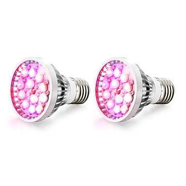 2pcs 100-200 lm E14 GU10 E27 LED Φώτα Καλλιέργειας 12 leds LED Υψηλης Ισχύος Θερμό Λευκό Κόκκινο Μπλε UV (Blacklight) AC 85-265V