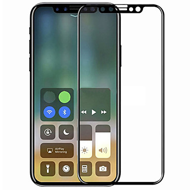 voordelige iPhone X screenprotectors-asling screen protector apple voor iphone x gehard glas 1 stuk full body screen protector 3d gebogen rand krasbestendig explosieveilig 9h