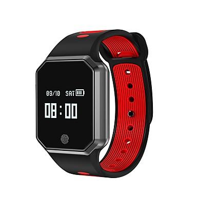 זול שעונים חכמים-JSBP YY QW11 גברים חכמים שעונים Android iOS Blootooth ספורטיבי עמיד במים מוניטור קצב לב בקרת APP מסך מגע טיימר מד צעדים מד פעילות מעקב שינה תזכורת בישיבה / כלוריות שנשרפו / המתנה ארוכה / Alarm Clock