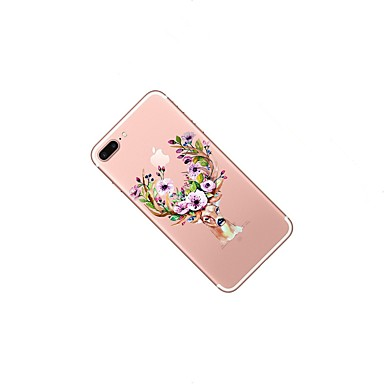 8 per Morbido Plus iPhone 8 Custodia Natale TPU iPhone 8 X Animali iPhone Apple Plus iPhone disegno 06293345 retro X Transparente Fantasia iPhone iPhone 8 Per Per 8wK8qUTaB