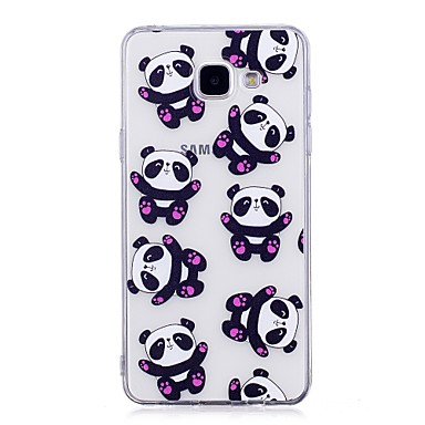 Case For Samsung Galaxy A5(2017) A3(2017) IMD Transparent Pattern Back Cover Panda Soft TPU for A3(2017) A5(2017) A5(2016) A3(2016)