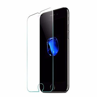 Screen Protector for iPhone 7 Tempered Glass 1 pc Front Screen Protector Anti-Fingerprint Scratch Proof Ultra Thin 2.5D Curved edge High