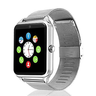 זול שעונים חכמים-חכמים שעונים GT09 ל iOS / Android מד צעדים / מזכיר שיחות / מד פעילות / מעקב שינה / תזכורת בישיבה / 2 MP / חיישן כבידה / חיישן אצבע / MTK6260