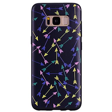 Недорогие Чехлы и кейсы для Galaxy S6-Кейс для Назначение SSamsung Galaxy S8 Plus / S8 / S7 edge С узором Кейс на заднюю панель другое Мягкий Силикон