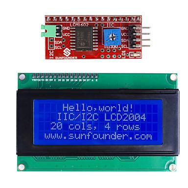 (Arduino için) IIC / i2c seri lcd 2004 modül ekran (arduino) panoları için (resmi ile çalışır)