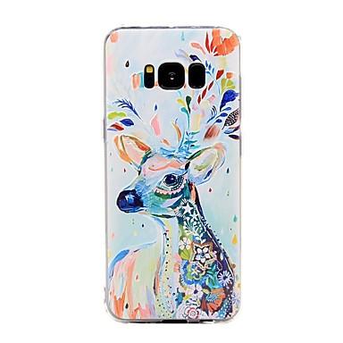 케이스 제품 Samsung Galaxy 패턴 뒷면 커버 동물 소프트 TPU 용 S8 Plus S8 S7 edge S7 S6 edge plus S6 edge S6 S6 Active S5 Mini S5 Active S5 S4 Mini S4