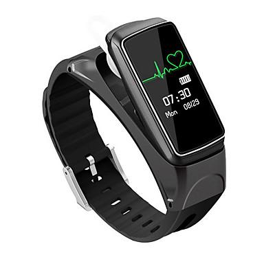 Akıllı Bilezik iOS Android Dokunmatik Ekran Kalp Ritmi Monitörü Su Resisdansı Yakılan Kaloriler Adım Sayaçları Egzersiz Kaydı Sağlık