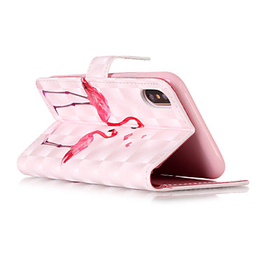 X per Fenicottero credito pelle 8 iPhone iPhone 06269918 Resistente iPhone Custodia Porta sintetica Con di Apple X Per 8 portafoglio iPhone A 8 Plus carte iPhone Integrale supporto qZPHCtcw