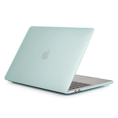 """Недорогие Еженедельные распродажи аксессуаров для Apple-MacBook Кейс Матовое Однотонный Поликарбонат для Новый MacBook Pro 15"""" / Новый MacBook Pro 13"""" / MacBook Pro, 15 дюймов"""