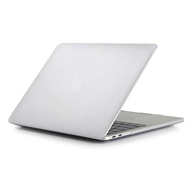"""billige ugentlige tilbud på Apple-tilbehør-MacBook Etui Syrematteret Ensfarvet Polycarbonat for Ny MacBook Pro 15"""" / Ny MacBook Pro 13"""" / MacBook Pro 15-tommer"""