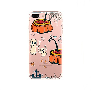 06285086 X 8 retro per iPhone Per iPhone Transparente 8 Halloween Per iPhone X TPU iPhone Plus Apple Plus Fantasia iPhone Custodia disegno Morbido iPhone 8 8 14Rctqq