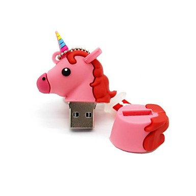 8GB usb 2.0 desen animat unicorn cal usb flash drive disc drăguț stick de memorie stilou unitate pen drive