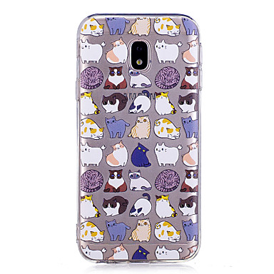 custodia del gatto cartoon galaxy j5 2017