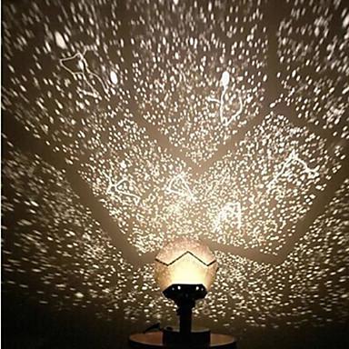 Yıldızlı Gece Işığı / LED Aydınlatma Fantezi LED ABS Çocuklar için / Yetişkin Hediye 1 pcs