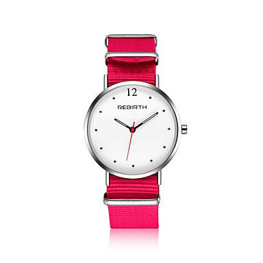 זול שעוני גברים-בגדי ריקוד גברים בגדי ריקוד נשים שעון יד שעונים יום יומיים שעוני אופנה Chinese קווארץ עמיד במים בד להקה יום יומי מינימליסטי אלגנטי שחור