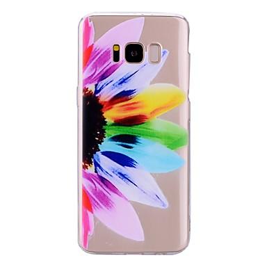 tok Για Samsung Galaxy S8 Plus / S8 Διαφανής / Με σχέδια Πίσω Κάλυμμα Λουλούδι Μαλακή TPU για S8 Plus / S8 / S7 edge