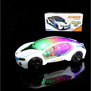 LED Lighting Race Car Holiday Classic Theme Others Vehicles Birthday Lighting Motorised Electric New Design Kid's Gift