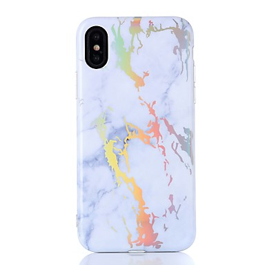 iPhone iPhone iPhone iPhone Plus 8 8 iPhone Fantasia iPhone Per Apple TPU Effetto IMD Custodia per 06392594 8 disegno X Morbido Per retro marmo X q1gUnI