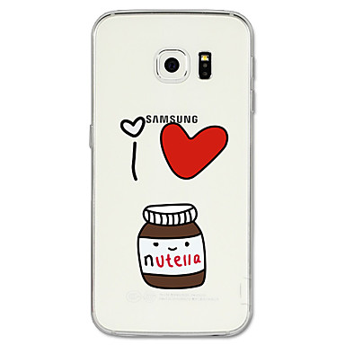 Pouzdro Uyumluluk Samsung Galaxy S8 Plus / S8 Temalı Arka Kapak Karton Yumuşak TPU için S8 Plus / S8 / S7 edge