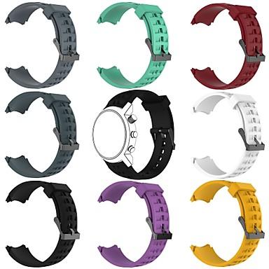 voordelige Smartwatch-accessoires-Horlogeband voor SUUNTO Terra Suunto Klassieke gesp Silicone Polsband