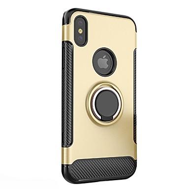 Tinta iPhone agli X PC iPhone 8 Armatura Per anello Resistente retro urti X per iPhone unica Supporto Per 06392628 ad Resistente Apple Custodia Fq10R6q