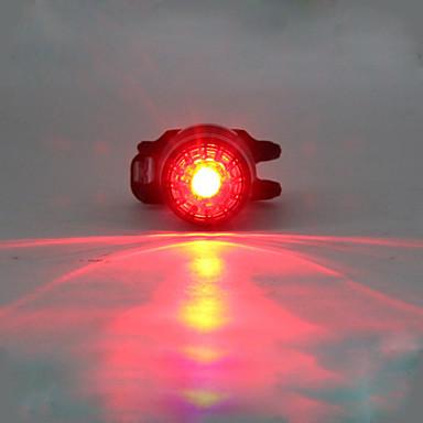 cheap Bike Lights-LED Bike Light Rear Bike Tail Light Safety Light Tail Light LED Mountain Bike MTB Cycling Glow Multiple Modes Lithium 180 lm Built-in Li-Battery Powered Red Camping / Hiking / Caving Cycling / Bike