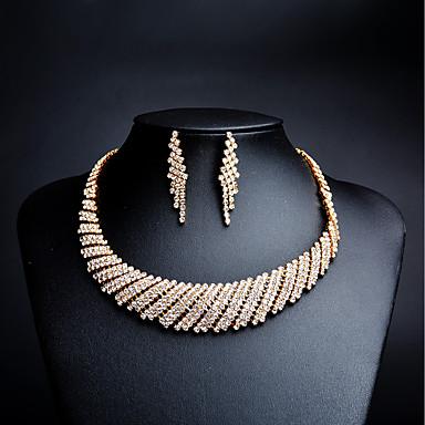 422d542adeed Mujer Zirconia Cúbica diamante pequeño Conjunto de joyas Brillante ...