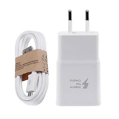 ee7ba94ec9b cargador de casa usb cargador de pared cable micro usb enchufe / eu enchufe  de carga