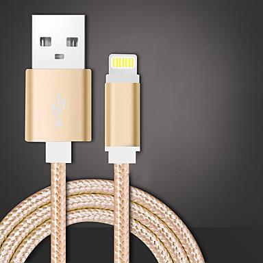 USB 2.0 Fonott Kábel Kompatibilitás Huawei Sony LG Lenovo Xiaomi 100 cm Nejlon
