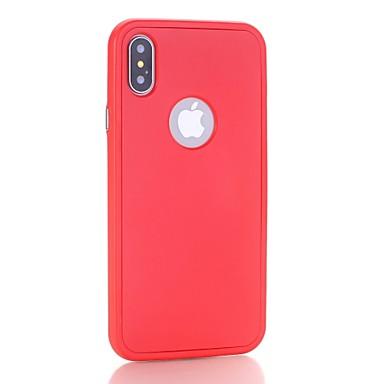 per iPhone iPhone X 06453438 Apple agli iPhone Custodia Resistente unica iPhone PC urti iPhone X 8 Tinta 8 iPhone Per Plus Per Resistente 8 retro wq4EC1Zx