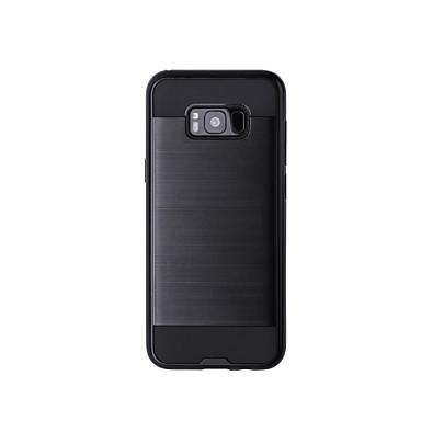 Недорогие Чехлы и кейсы для Galaxy S6-Кейс для Назначение SSamsung Galaxy S8 Plus / S8 / S7 edge Защита от удара Чехол Однотонный Твердый ТПУ