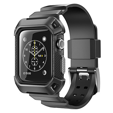 Uhrenarmband für Apple Watch Series 3 / 2 / 1 Apple Handschlaufe Sport Band Silikon