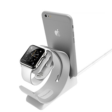 voordelige Apple Watch-bevestigingen & -houders-Apple Watch Alles-in-1 Aluminium Bureau