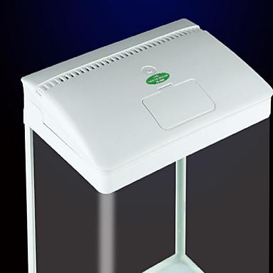 LED Işık Mini Akvaryumlar Filtreler Arka Fon Enerji Tasarruflu Plastik