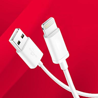 Világítás USB kábeladapter Töltőkábel Adatkábel Kábel Szabályos Kábelek Kábel Kompatibilitás iPad Apple iPad Apple iPhone 100 cm TPU