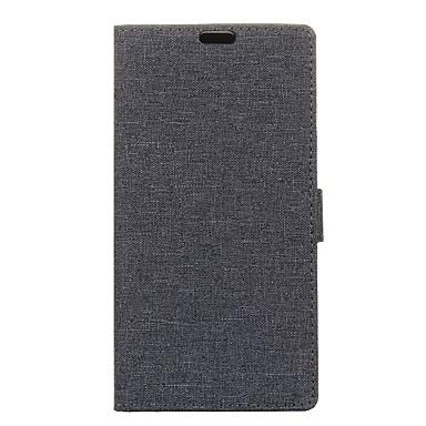 voordelige Hoesjes / covers voor Sony-hoesje Voor Sony Z5 / Sony M4 / Sony Sony Xperia Z5 Premium / Sony Xperia Z3 Mini / Z4 Mini Portemonnee / Kaarthouder / Flip Volledig hoesje Effen Hard PU-nahka / Sony Xperia XA / Sony Xperia X