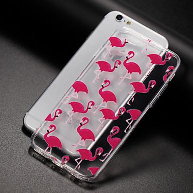 غطاء من أجل Apple iPhone X إفون 8 شفاف نموذج غطاء خلفي البشروس طائر مائي ناعم TPU إلى iPhone X iPhone 8 Plus iPhone 8 iPhone 7 Plus