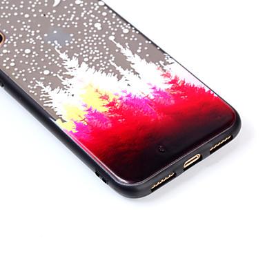 Acrilico Apple disegno Fantasia Plus per 8 X Resistente 06485105 iPhone 8 Plus iPhone Per Albero iPhone Per X iPhone Custodia retro Transparente 6x5zSf5