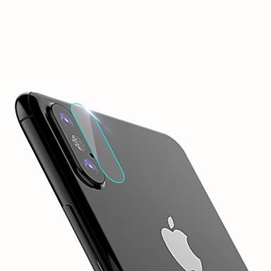 Protecteur d'écran Apple pour iPhone X Verre Trempé 1 pièce Protection Arrière Anti-Rayures Haute Définition (HD)