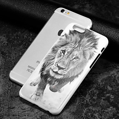 Pouzdro Uyumluluk Apple iPhone 8 iPhone 8 Plus iPhone 6 iPhone 6 Plus iPhone 7 Plus iPhone 7 Temalı Arka Kapak Hayvan Sert PC için iPhone