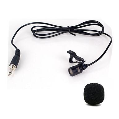 mini przenośny klips na lapecie lavalier rąk głośnik kondensator mikrofon przewodowy mikrofon mikrofon