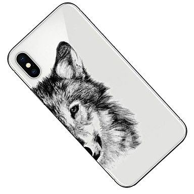8 per iPhone sottile X Plus Per TPU Transparente Fantasia disegno retro iPhone 8 Custodia Animali Apple iPhone iPhone Ultra X Per 06556714 Morbido a0ZRUxqE