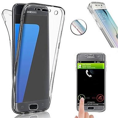 Carcasă Pro Samsung Galaxy S8 Plus / S8 Nárazuvzdorné / Ultra tenké Celý kryt Jednobarevné Měkké TPU pro S8 Plus / S8 / S7 edge