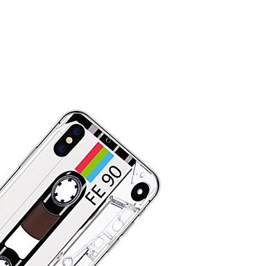 iPhone TPU X Custodia Cartoni Plus disegno Per 06580003 iPhone X per 8 iPhone 8 Morbido Per Fantasia iPhone iPhone animati 8 retro Plus Apple CUCwqnp4T