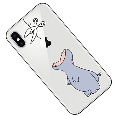 iPhone Per 8 Transparente Custodia per iPhone Apple Morbido Cartoni animati X retro iPhone Per Fantasia Plus 06580273 8 iPhone disegno X TPU 4FFaxdqH