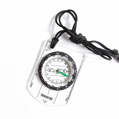 Kompasi Kompas Male veličine Mjerica plastika Penjanje Vježbanje na otvorenom Gyalogtúra 1 pcs Neocakljen porculan