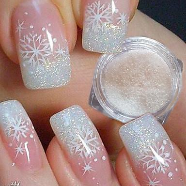 1pc Acrylic Powder Glitter Powder Nail Glitter Elegant