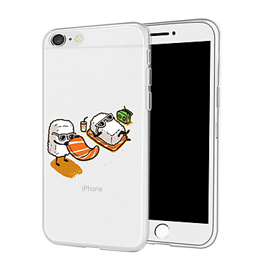 Custodia X TPU 8 Plus Alimenti 8 retro Per Per Cartoni animati 06592126 Morbido X disegno per iPhone iPhone iPhone Apple Fantasia Plus iPhone rwSrqXUZY