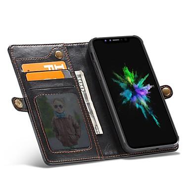 Tinta credito Apple 06564155 Con 8 di carte iPhone Custodia A Resistente Per unica Porta magnetica portafoglio X iPhone vera chiusura Integrale gqa4Fwz